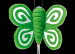 alfiler mariquita verde