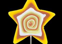 alfiler estrella amarillo