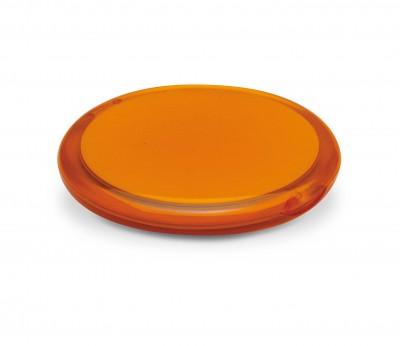 espejo maquillaje naranja