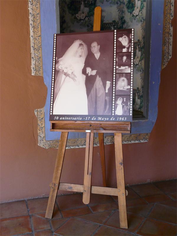 bodas de oro foto novios